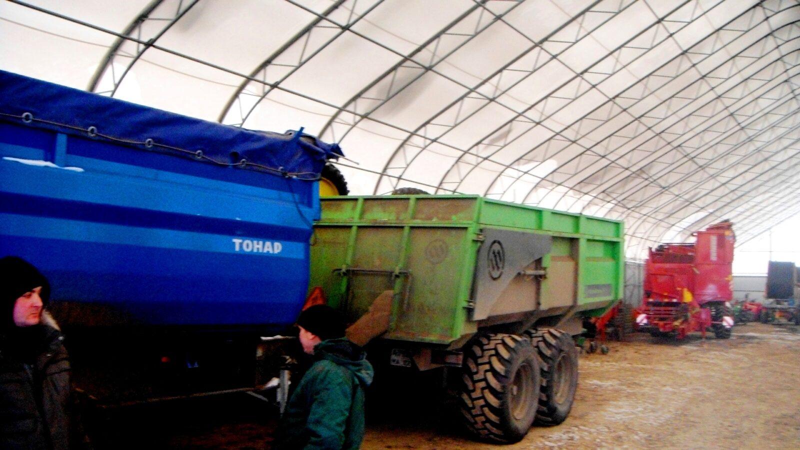 Ангар для сельхозтехники