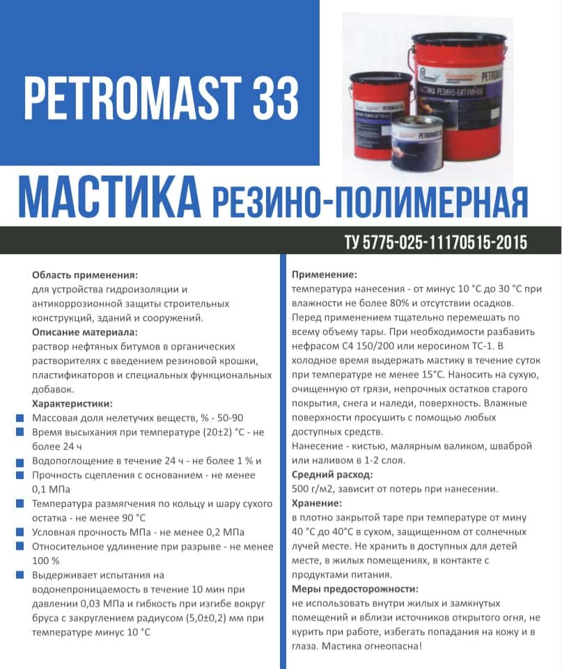 PETROMAST 33